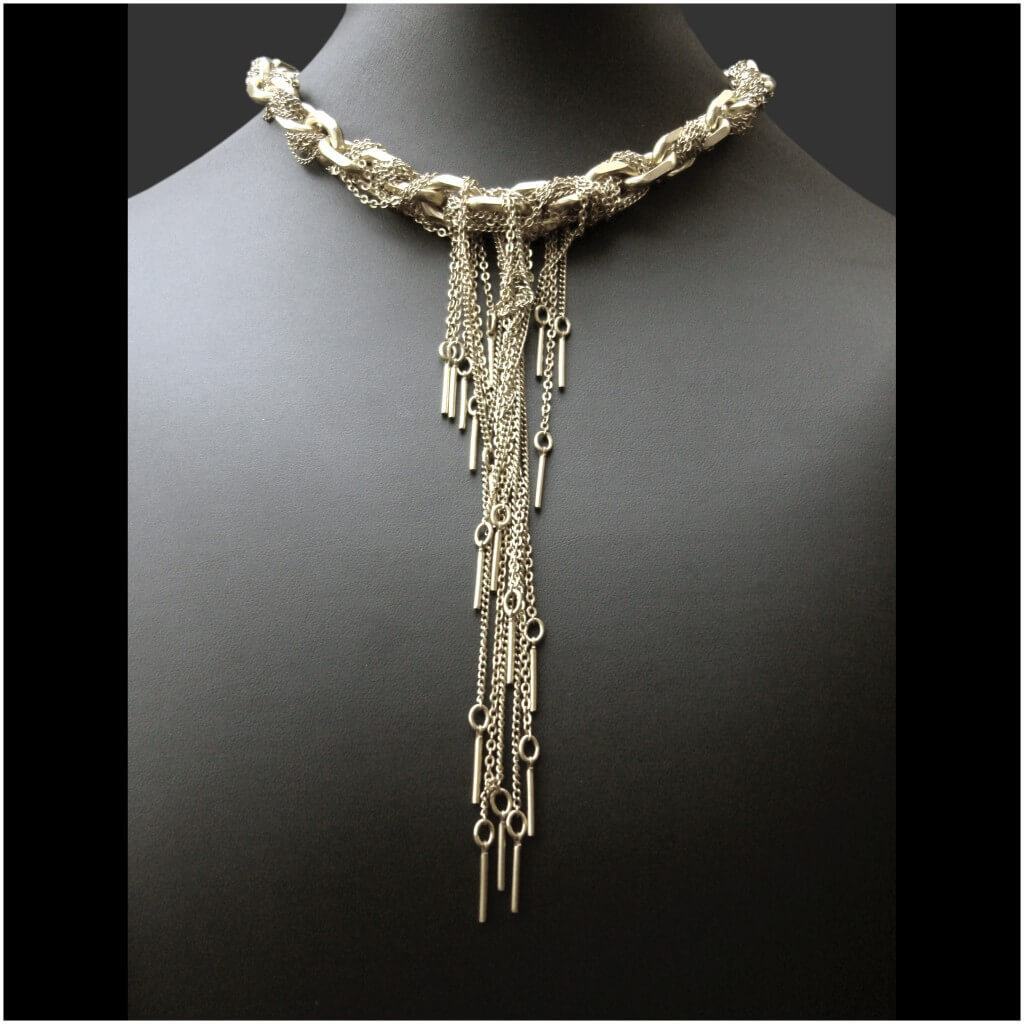 Zelia Horsley Jewellery London - Costume Necklaces - Needles & Threads Necklace.