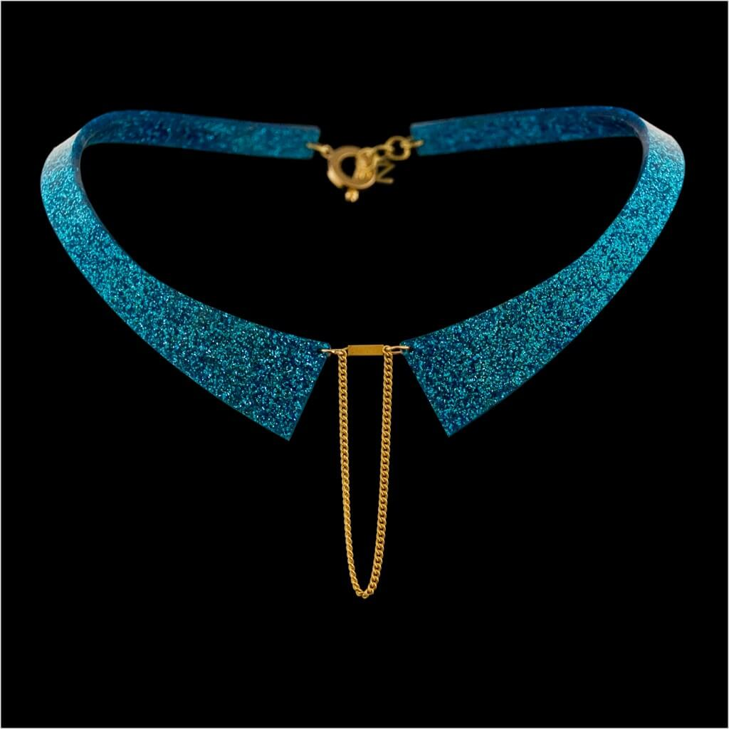 Zelia Horsley Jewellery London - Illuminate Collar - One of most stylish collars in the UK!
