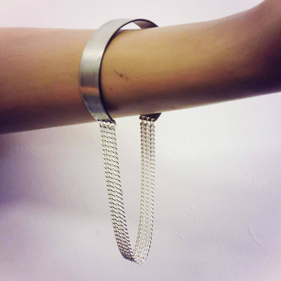 Zelia Horsley Jewellery London - Chris Urbanowicz Bracelet - Sterling silver made to measure - £185