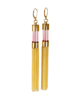 Blushing tassel Earrings