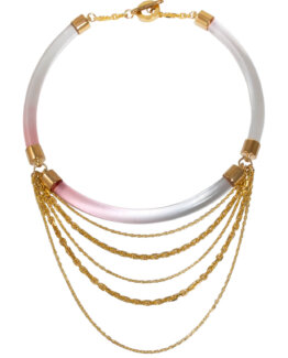 Dripping Gold Necklace